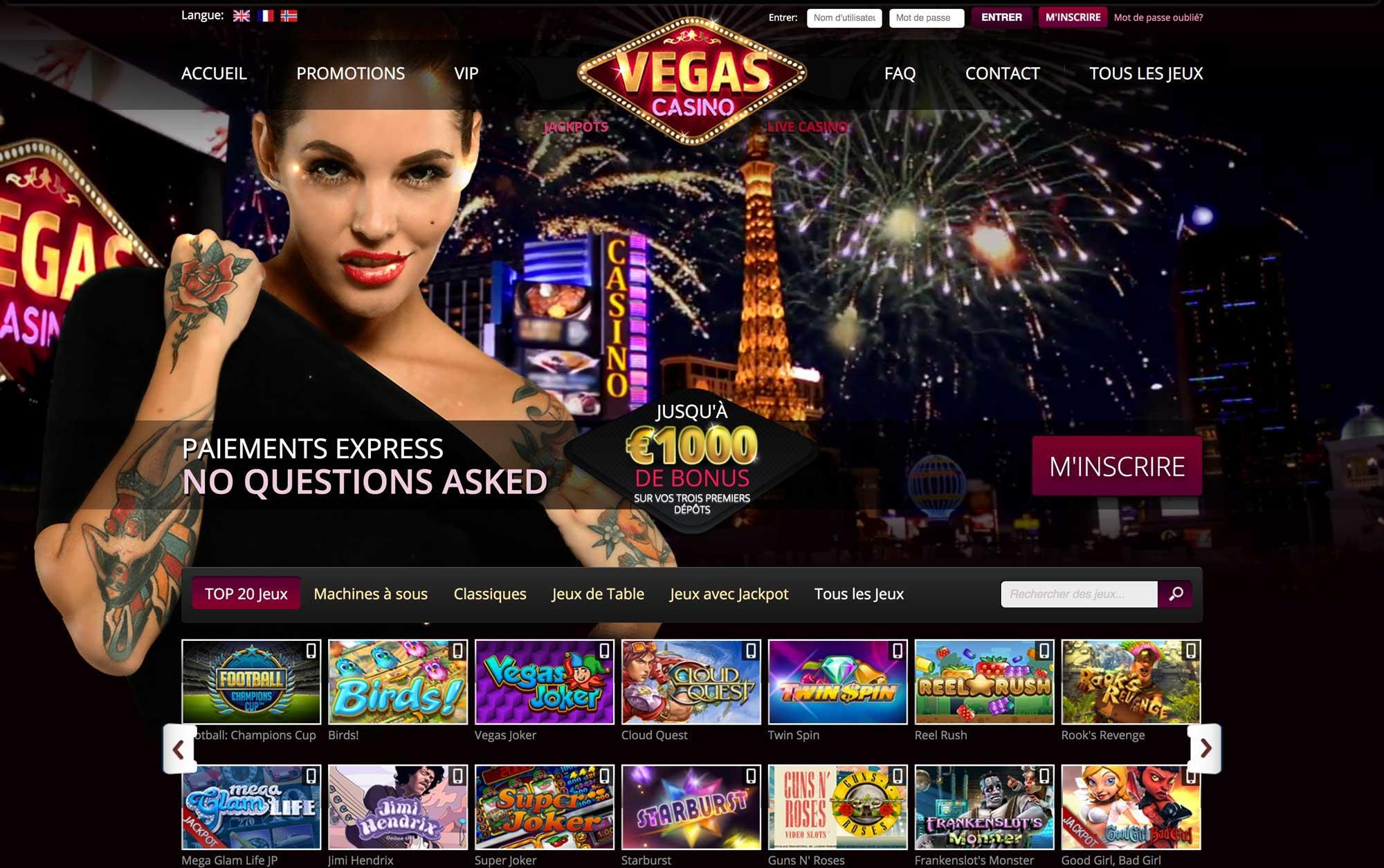 Vegas Casino Online : un site de jeux qui en vaut la peine ?