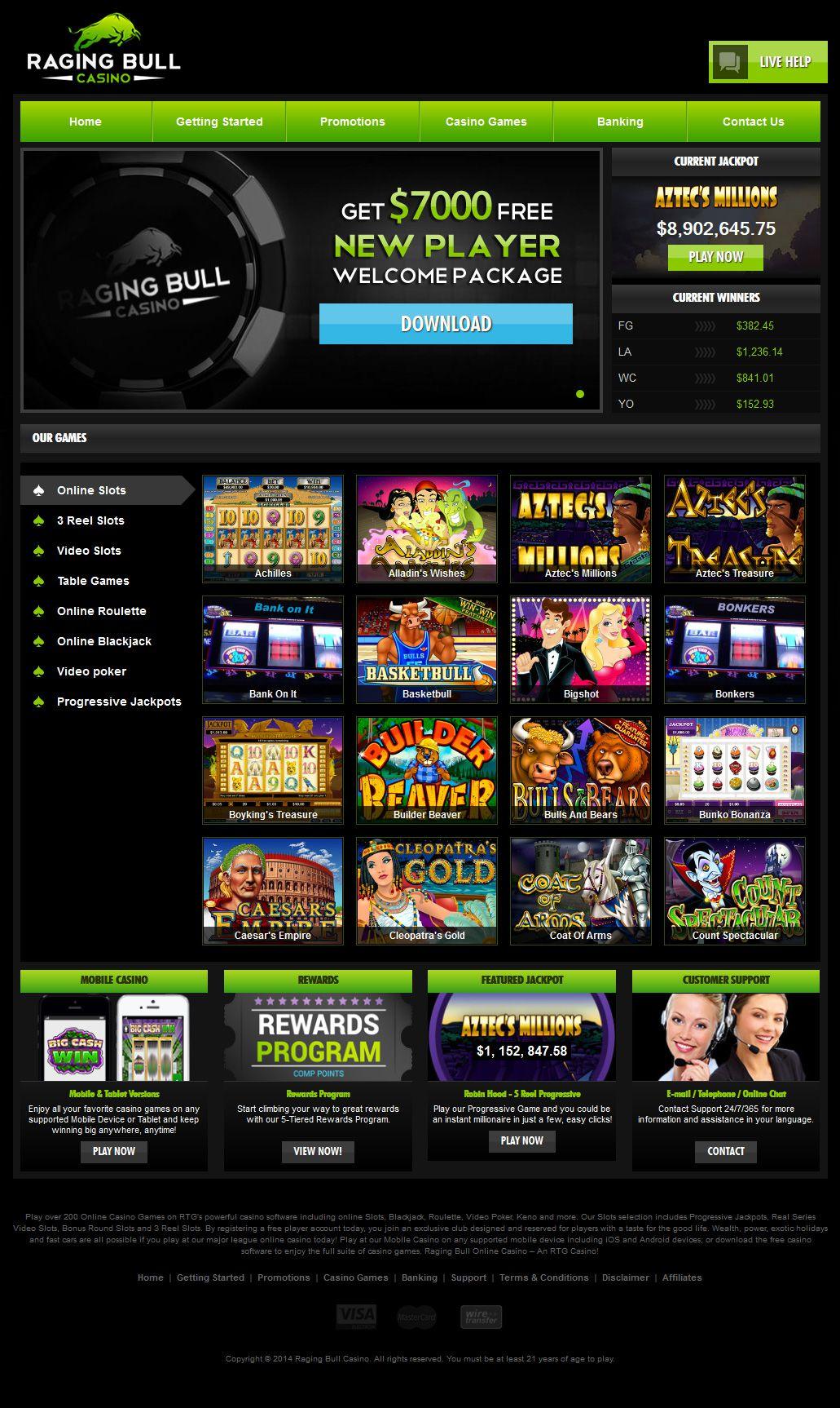 Raging bull et Betn1 Casino : quel est le meilleur ?