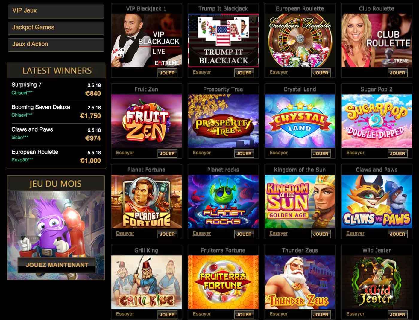 Dépôt joka casino : comment faire un dépôt chez Joka ?